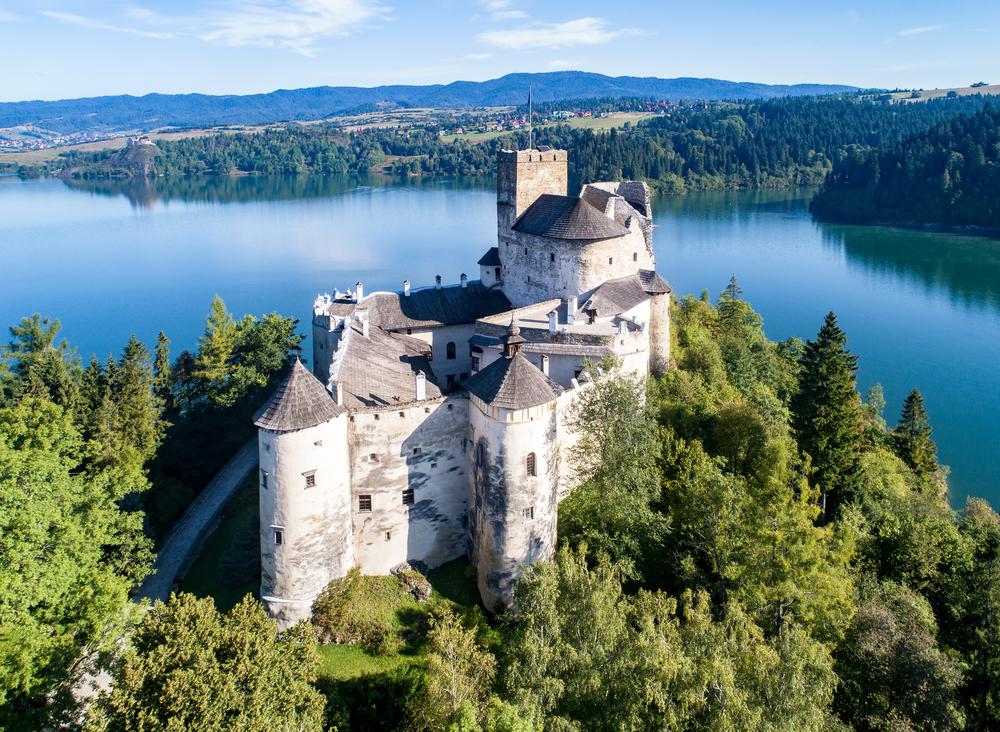 Widok zamku