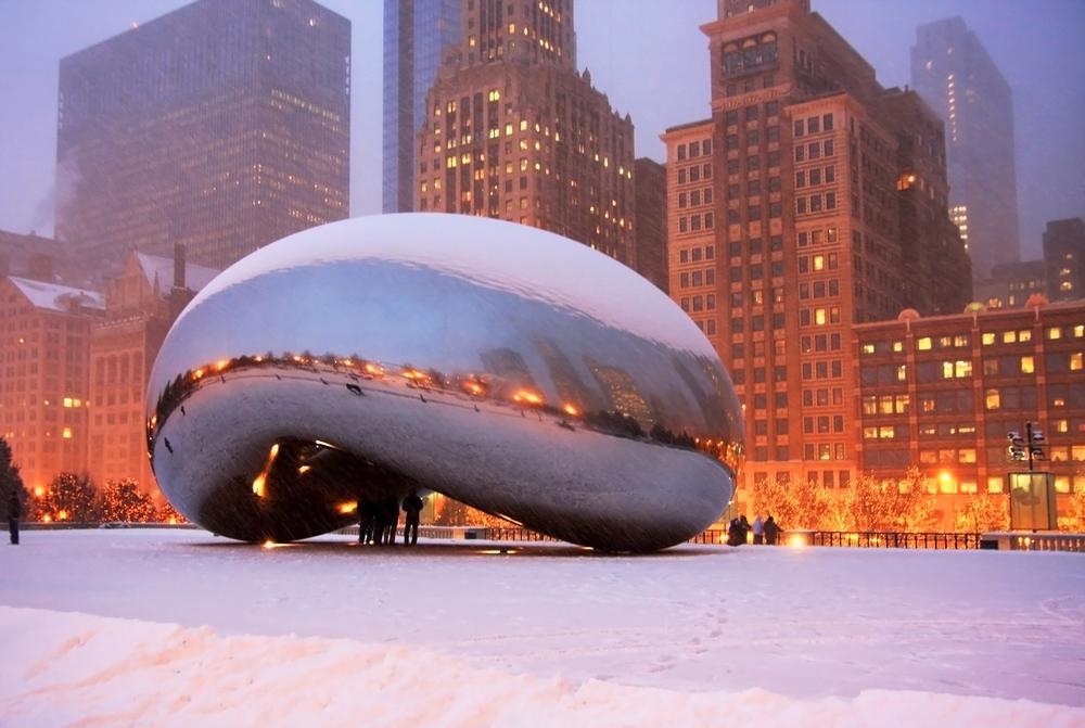 Chicago zimą