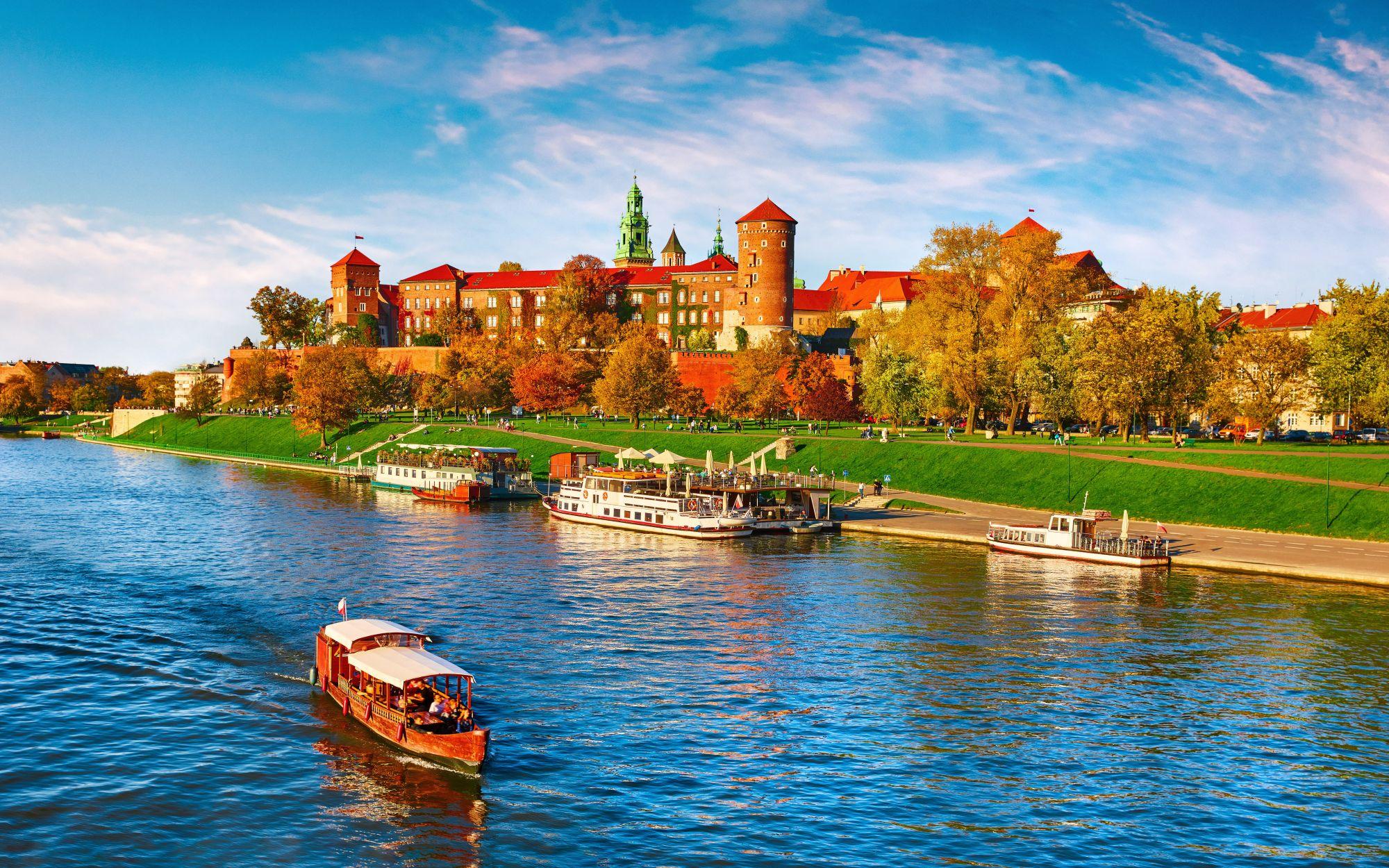 Wawel i Wisła