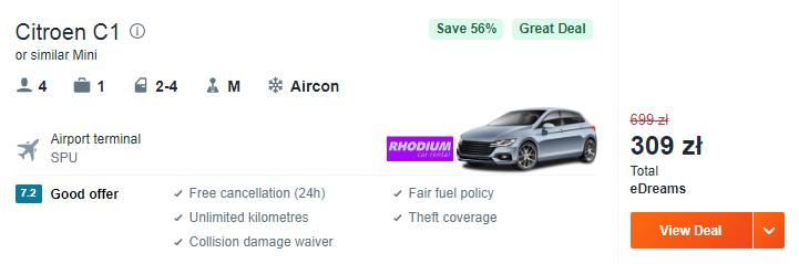 rezerwacja auta