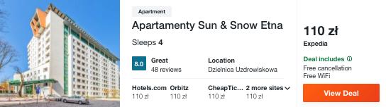 zarezerwuj hotel w kolobrzegu