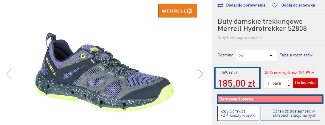 Zamówienie butów
