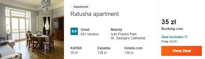 apartament we Lwowie