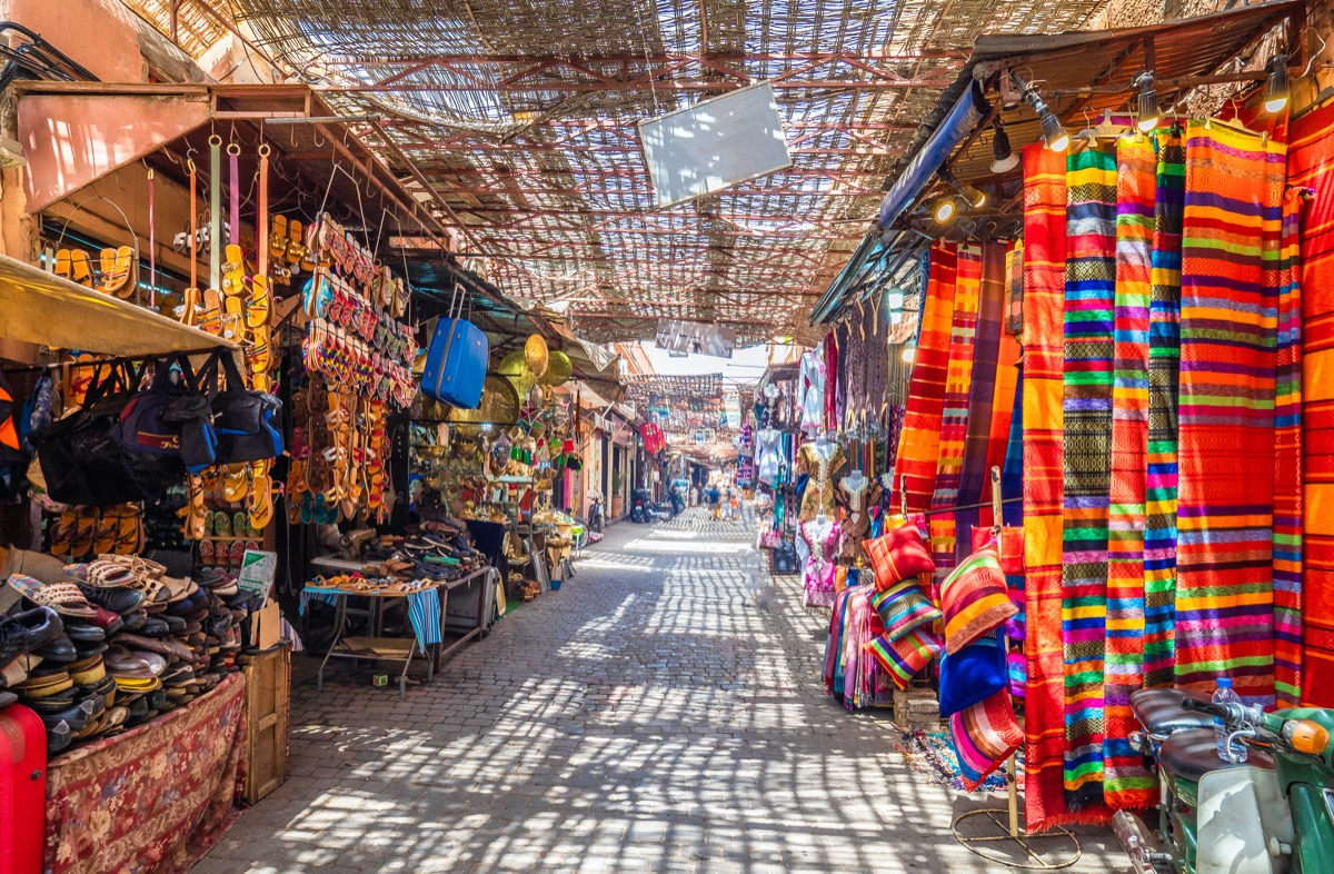 marrakesz bazar