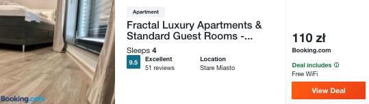 zarezerwuj hotel w poznaniu