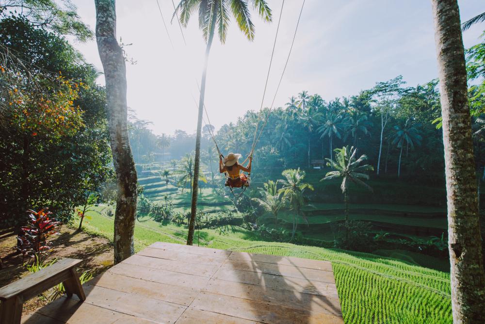 Huśtawka na Bali