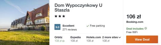 zarezerwuj hotel w tatrach