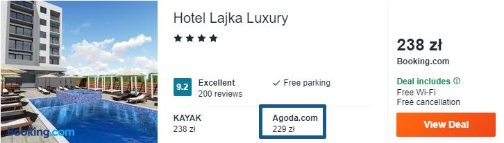 Hotel w Czarnogórze