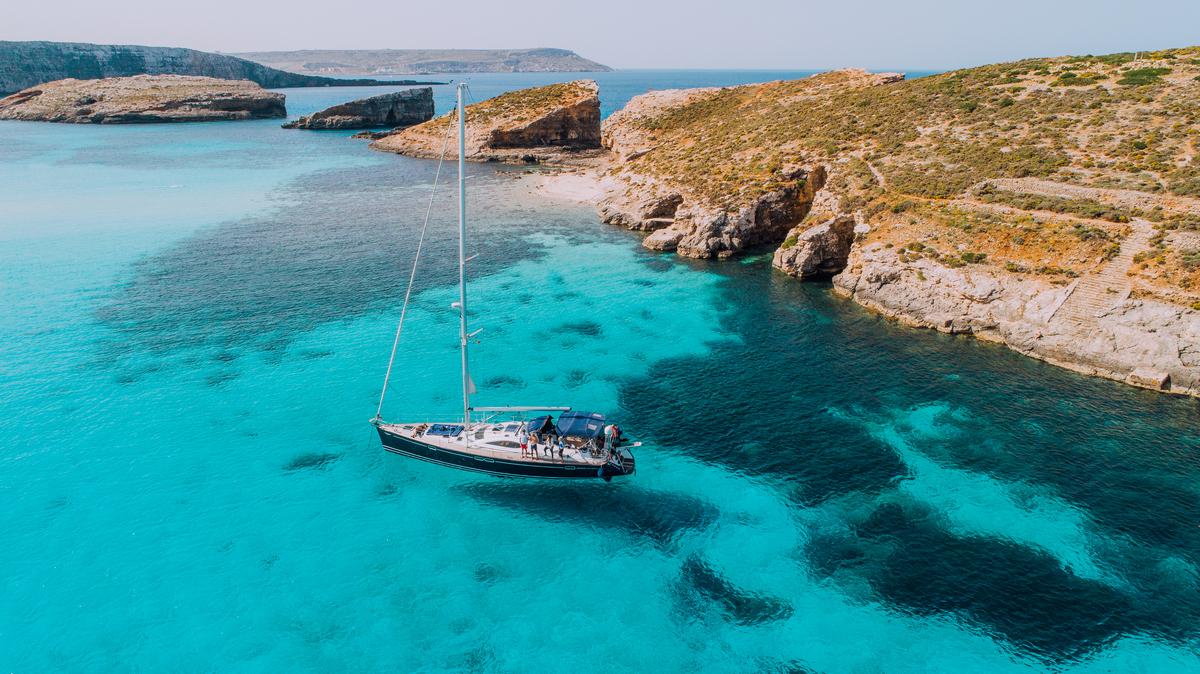 Jacht na Malcie