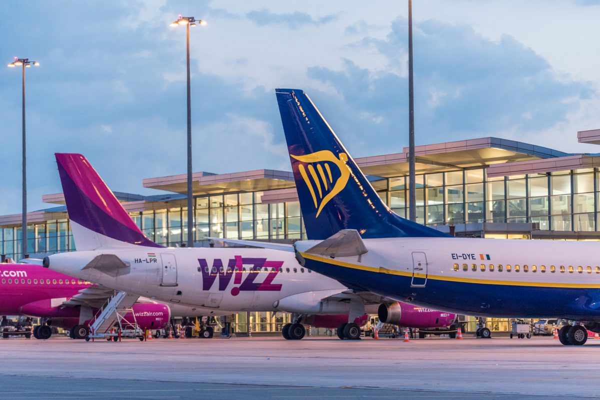 wizz air ryanair