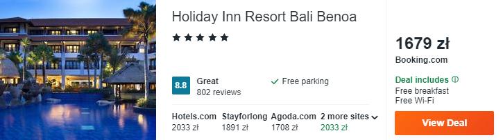 Noclegi na Bali