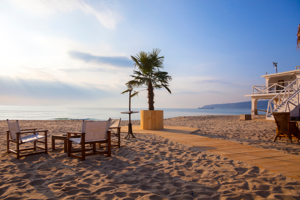 Widok plaży