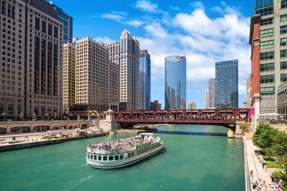 Rzeka w Chicago