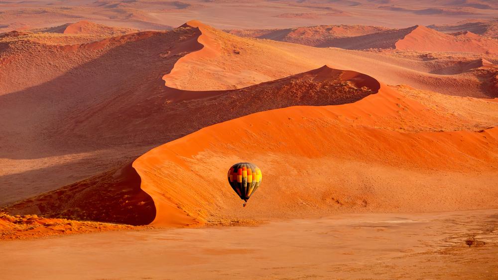 Balon w Namibii