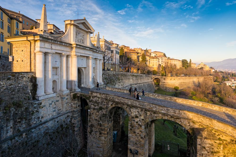 Widok Bergamo