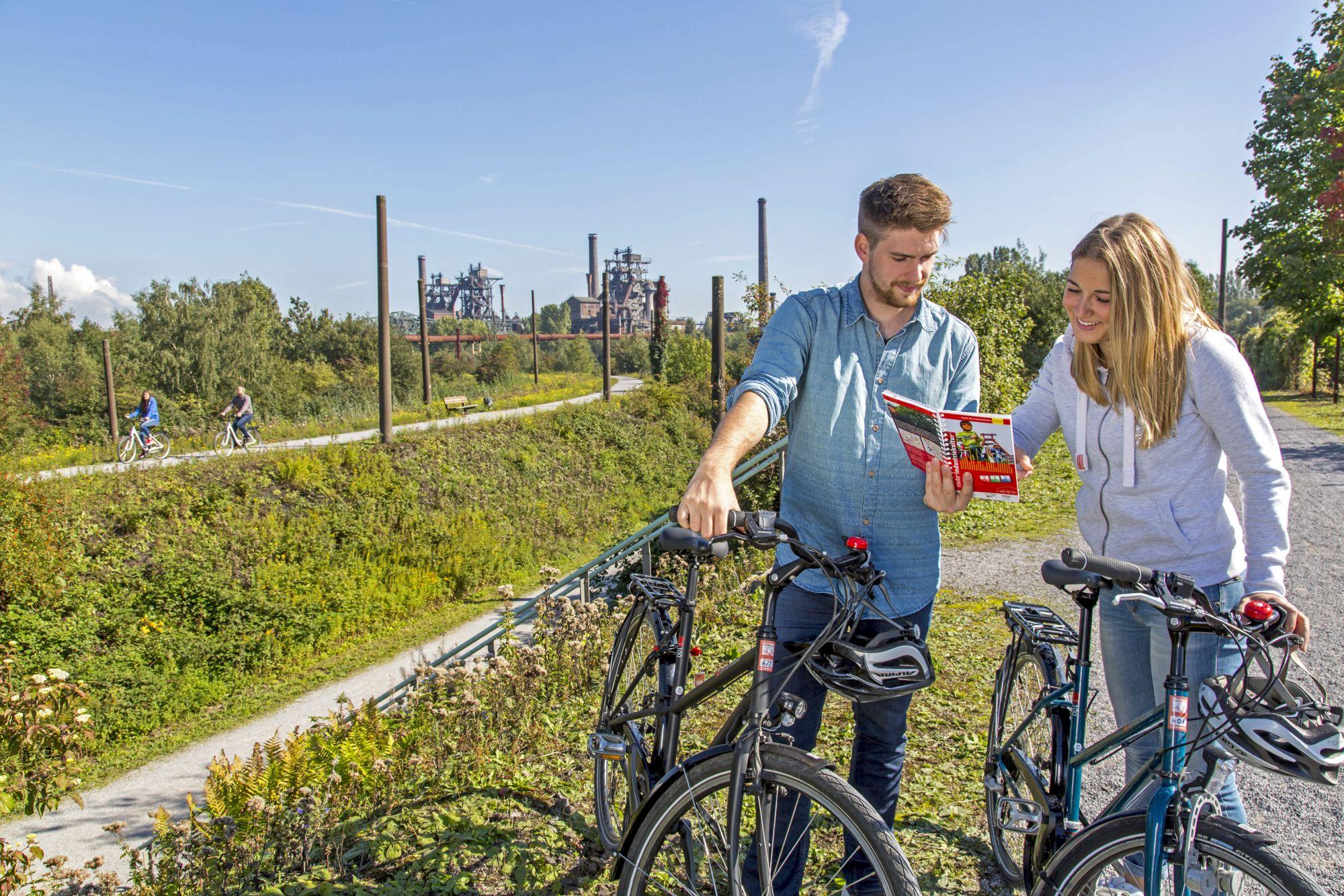 Rowerem w Duisburgu