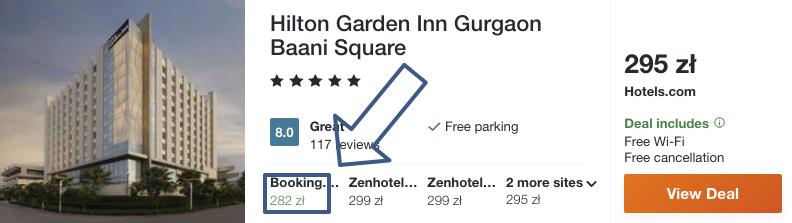 zarezerwuj hotel w delhi