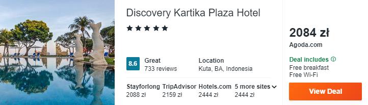 Hotel na Bali