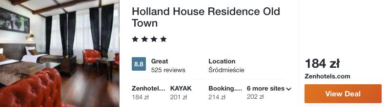 zarezerwujcie hotel w gdansku
