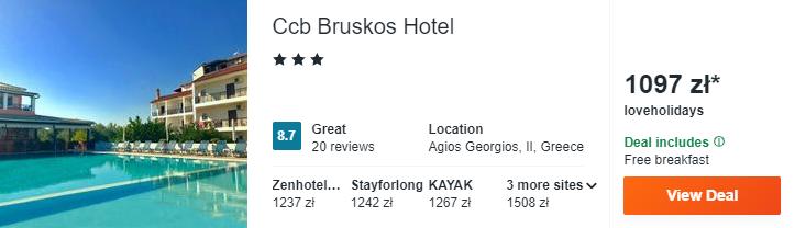 Hotel w Grecji