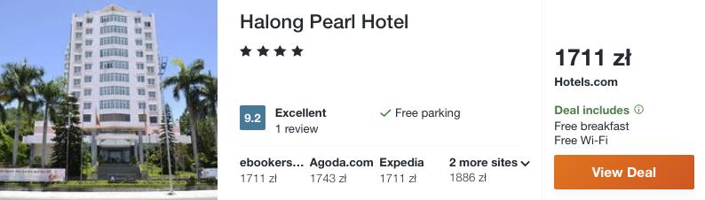 zarezerwuj hotel w Wietnamie
