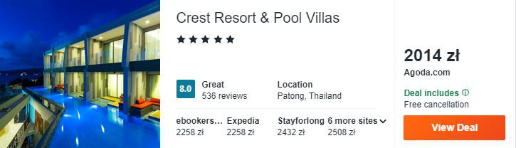 Hotel na Phuket