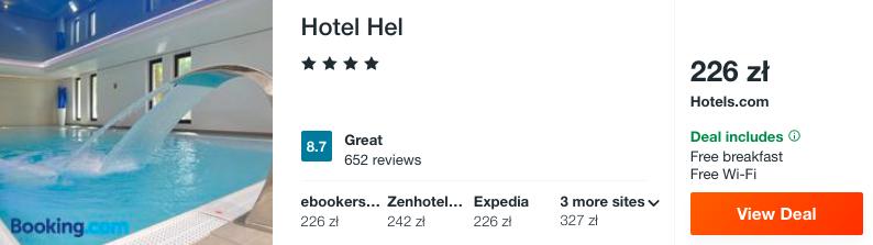 zarezerwuj hotel na helu