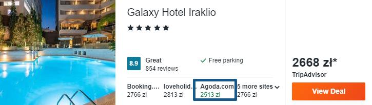 Hotel na Krecie