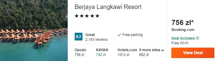Langkawi hotel