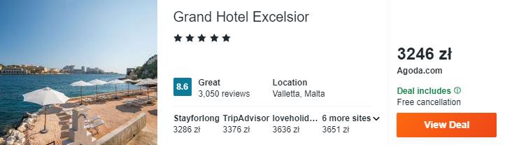 Hotel na Malcie