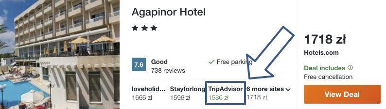 zarezerwuj hotel w pafos