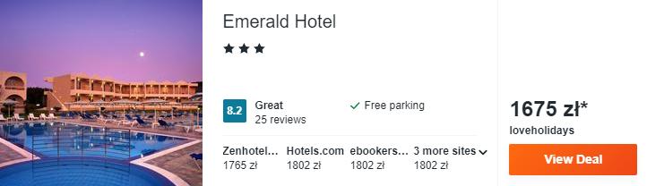 Hotel na Rodos