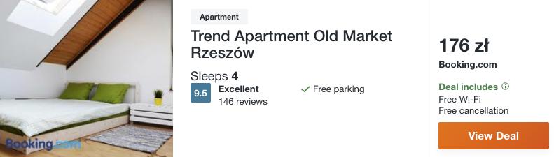 zarezerwuj hotel w rzeszowie