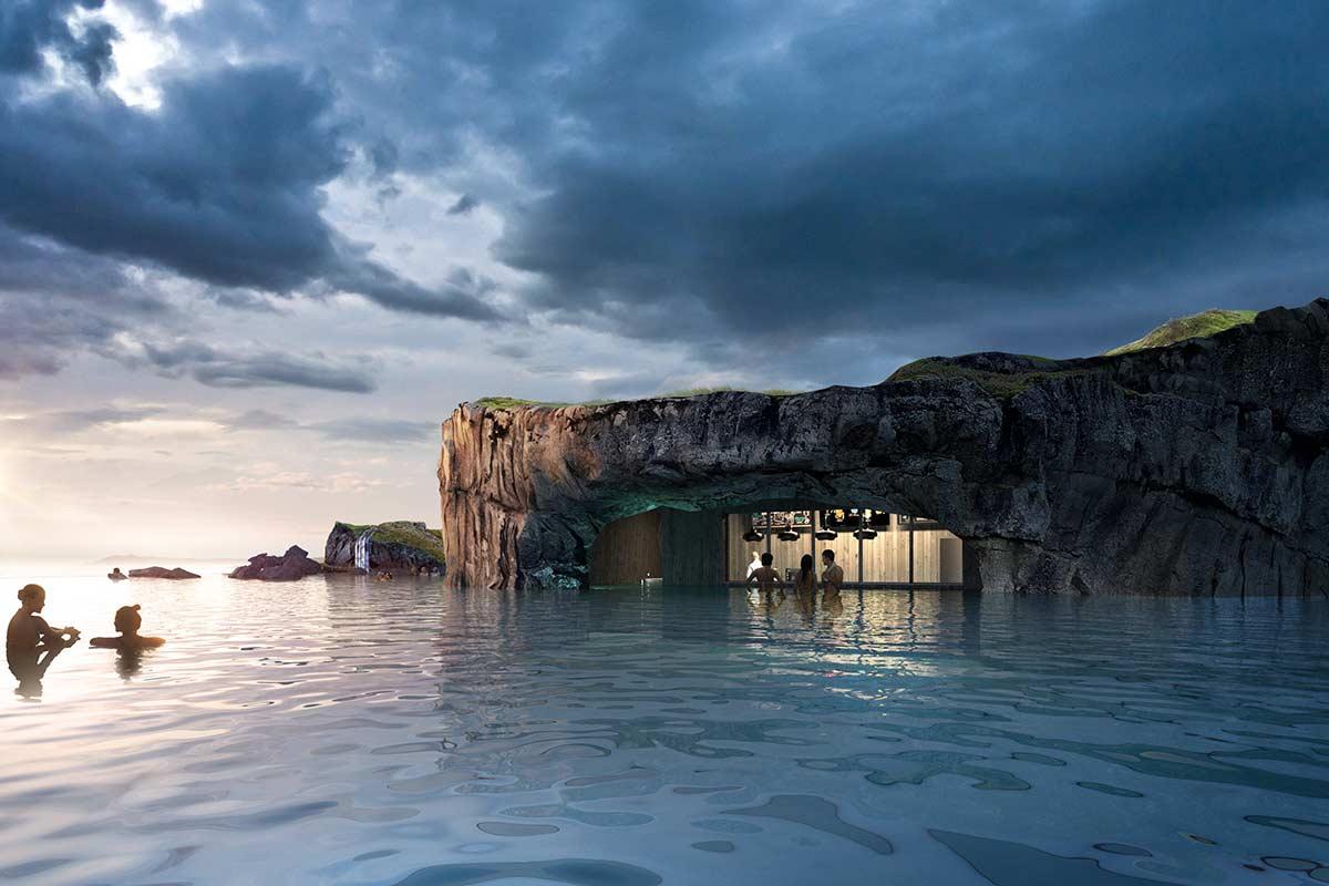 islandia sky lagoon