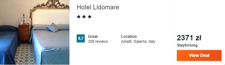 Hotel w Amalfi