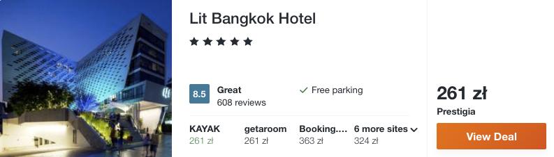 zarezerwuj hotel w bangkoku