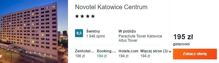 Hotel w Katowicach