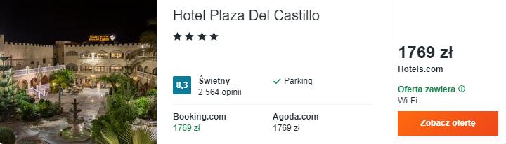 Hotel w Maladze