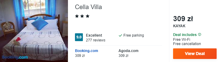Hotel na Seszelach