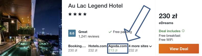 zarezerwuj hotel w hanoi
