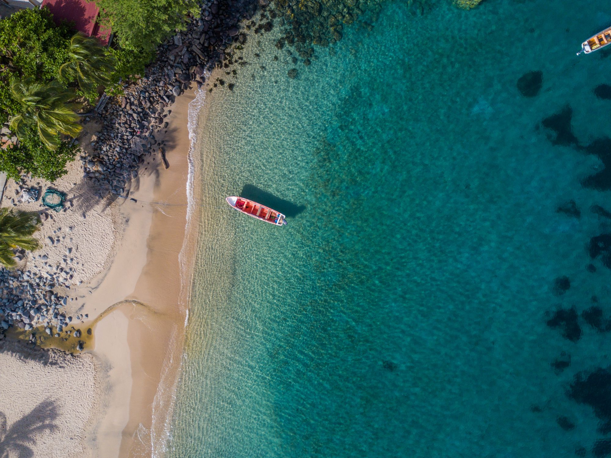 Plaża z drona