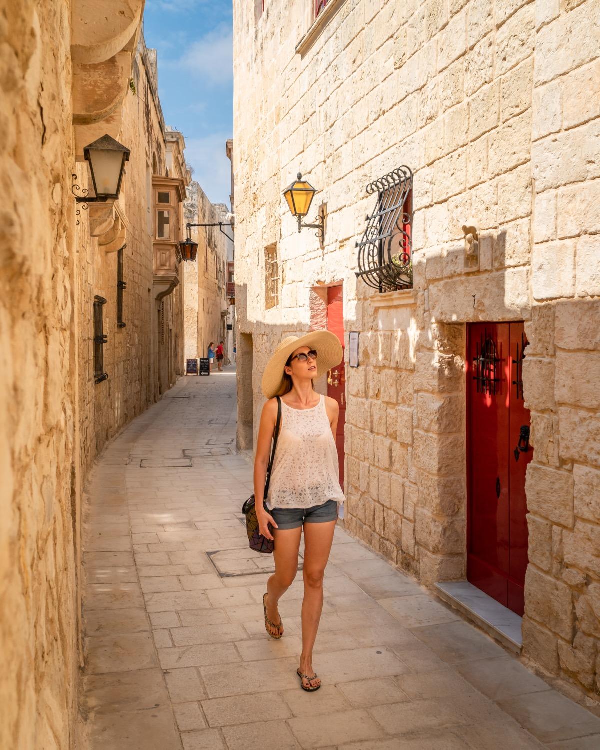 Dziewczyna na Malcie