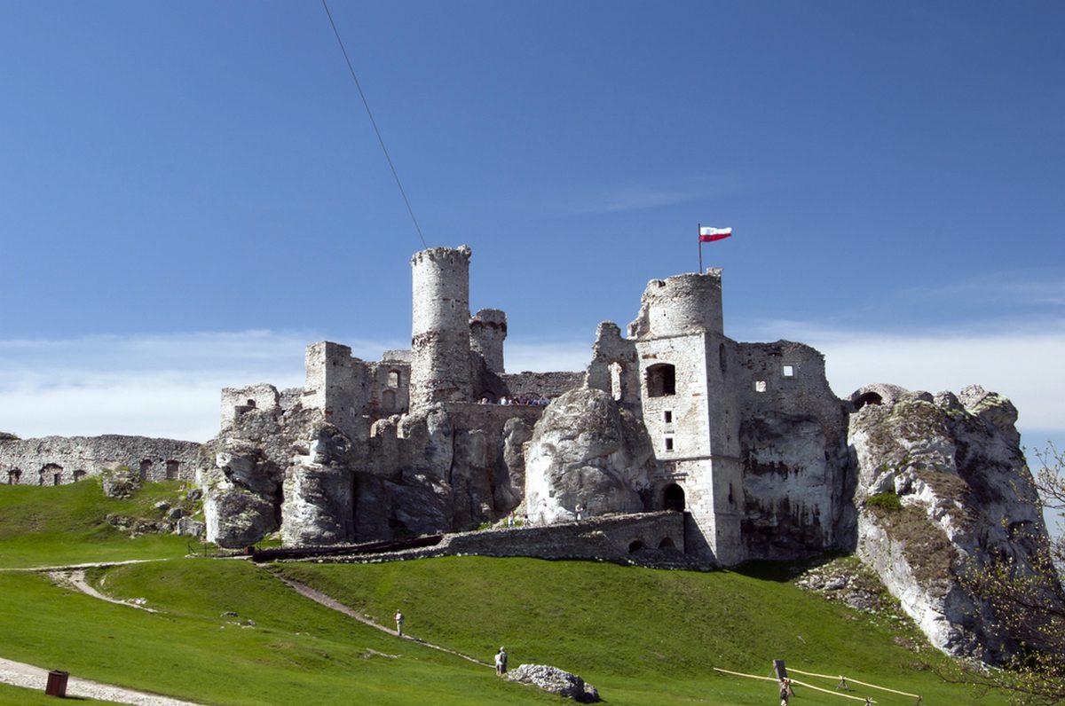 jura zamek w ogordziencu