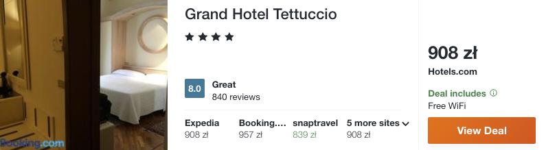 zarezerwuj hotel w toskanii