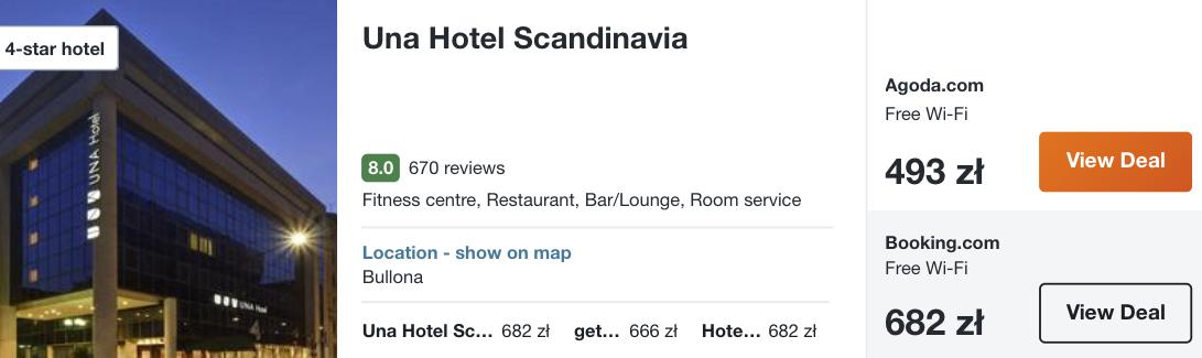 zarezerwuj hotel w mediolanie