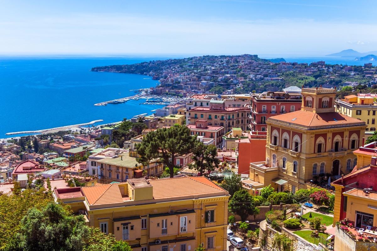 neapol widok na wybrzeze
