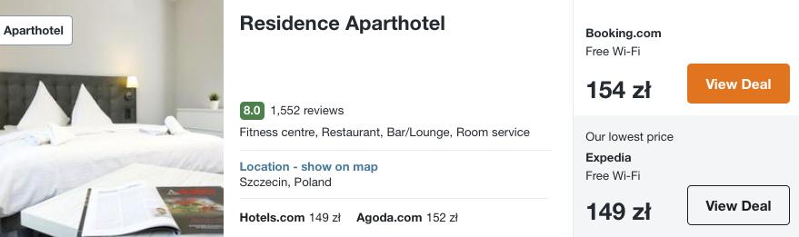 zarezerwuj hotel w szczecinie