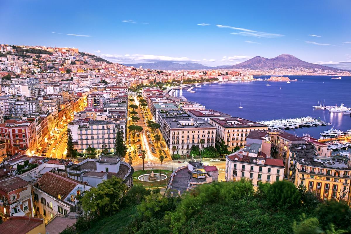 panorama neapolu