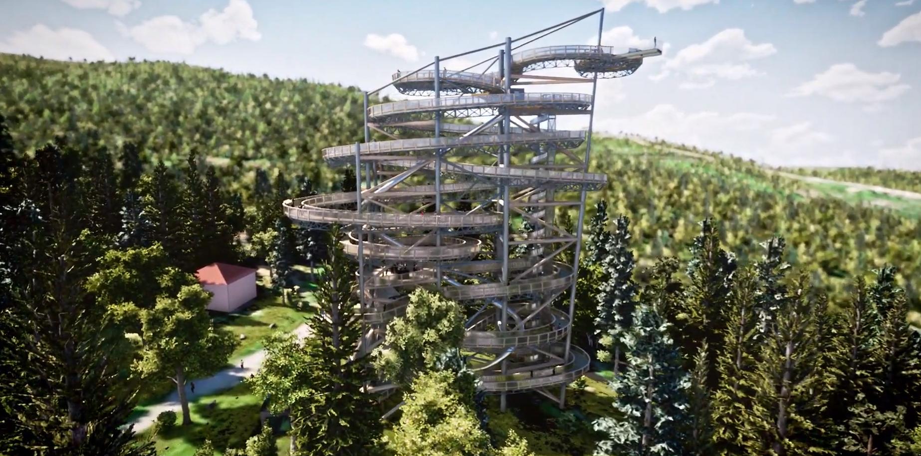 wieża widokowa swieradow zdroj