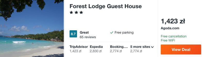 zarezerwuj hotel na seszelach